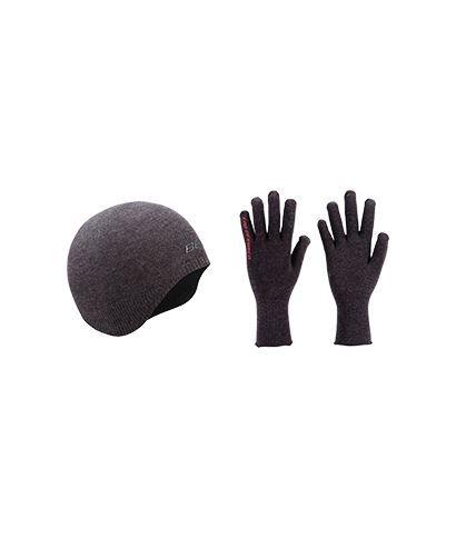 wintermuts/handschoenen FIR combishield zwart,BBW-296