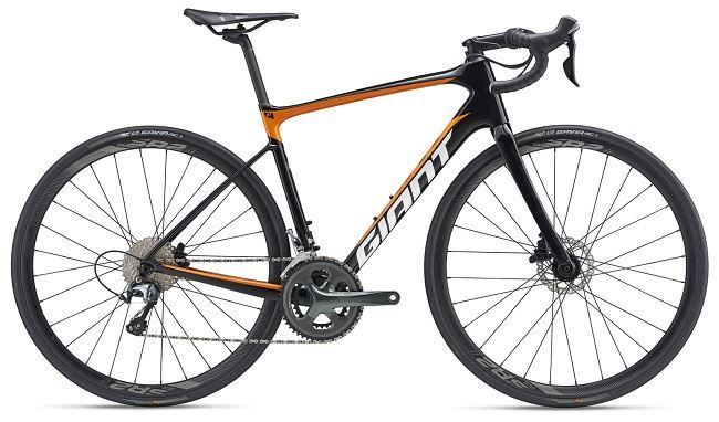 Giant Defy Advanced 3 Carbon/Orange