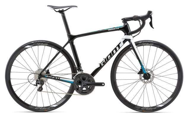 TCR Advanced 2 Disc L Black