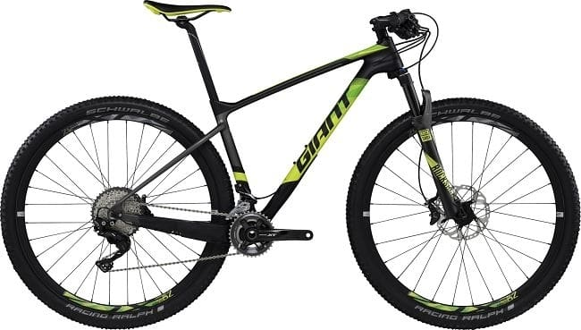 XTC Advanced 29er 2 GE M Carbon/Yellow