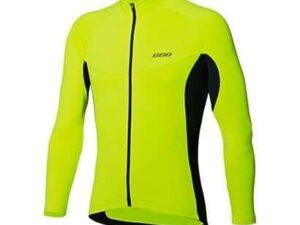 Fietsshirt lange mouw Transition neon geel, BBW-237