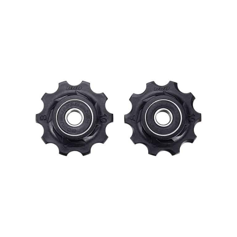derailleurwieltjes RollerBoys 10T zwart, BDP-01
