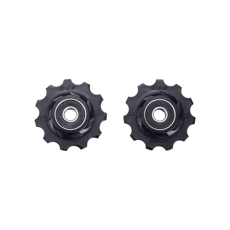 derailleurwieltjes RollerBoys 11T zwart, BDP-02
