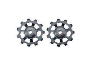 derailleurwieltjes AluBoys 11T aluminium grijs, BDP-21