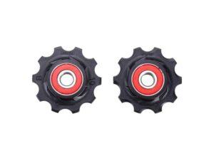 derailleurwieltjes RollerBoys 10T keramisch zwart, BDP-11