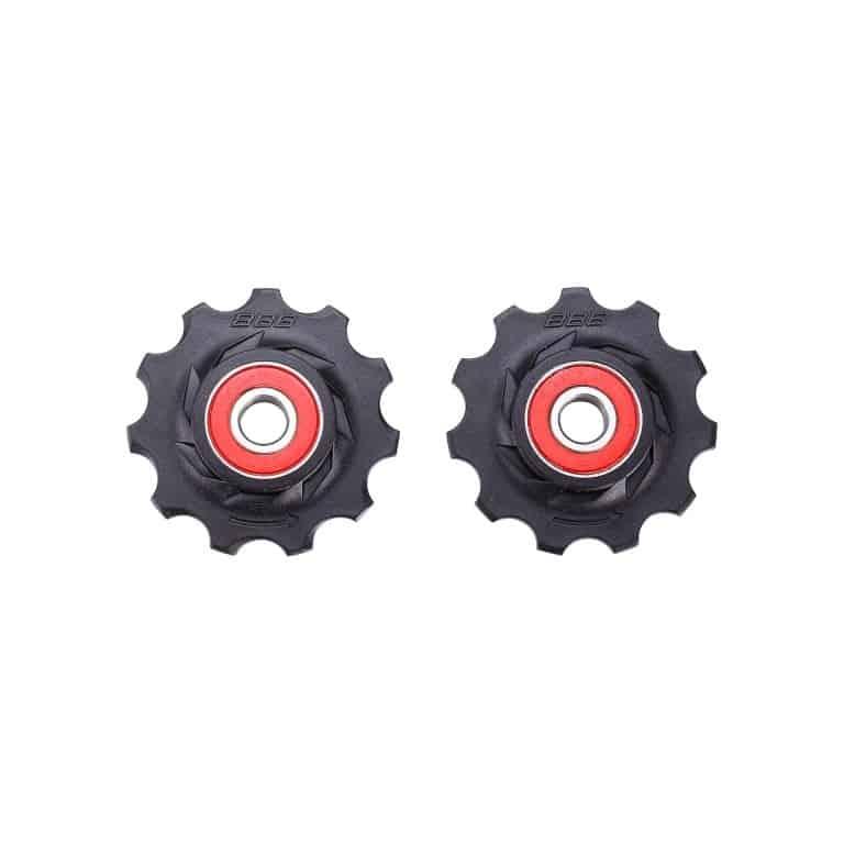 derailleurwieltjes RollerBoys 11T keramisch zwart, BDP-12