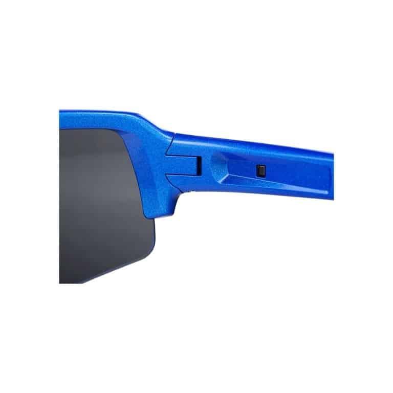 fiets sportbril Commander metaal/blauw, BSG-61