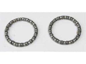 ball bearing (2 st.) H92AN zilver, BHP-16