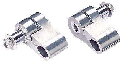 kabelklem HydroClamp 2 stuks zilver, BCB-92