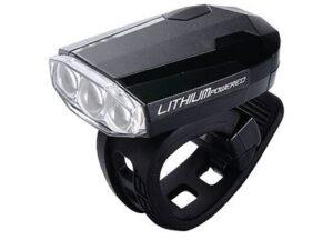 Fietsverlichting, voorlamp Spark, USB oplaadbaar, BLS-46