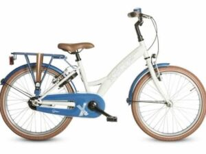 "18"" LOEKIE X-PLORER GIRL WHITE/BLUE"