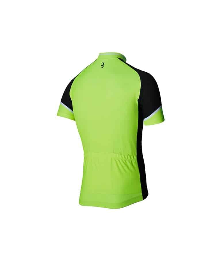 BBW-250 shirt k.m. Comforfit L rood/zwart/wit