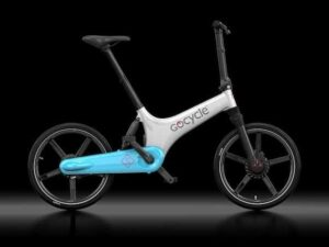 Gocycle GS White/Light Blue