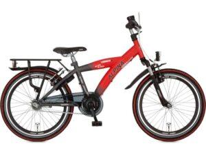 Alpina Yabber J20 Traffic Red Matt - Industrial Black Matt